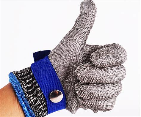 kit guantes carnicero malla de acero  proteccion