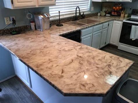Beautiful Epoxy Countertop Kitchen Decoration (7) Homedecort