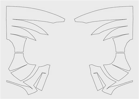 spoderman template dali lomo spider shell diy cardboard template