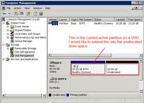 windows 7 how to increase drive space user