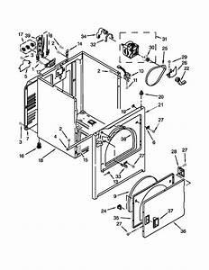 Kenmore 11061262310 Dryer Parts