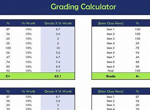 Payroll Calculations In Excel Free School Grading Calculator My Excel Templates