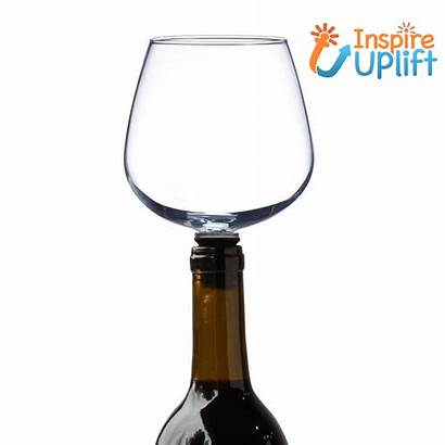 Wine Glass Bottle Topper Inspireuplift Fun Insert