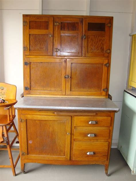 kitchen cabinet 1930 s wooden hoosier type kitchen cabinet zinc top with 1162