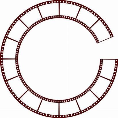 Circle Svg Filmstrip Film Strip Pixels Wikimedia