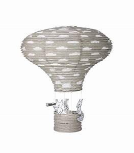 Suspension Chambre Enfant : abat jour suspension lanterne chambre enfant en papier gris ~ Melissatoandfro.com Idées de Décoration