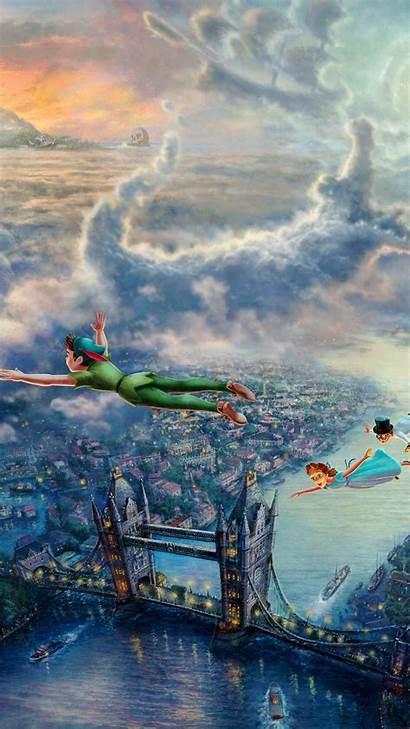 Thomas Kinkade Disney Iphone Pan Peter Peterpan