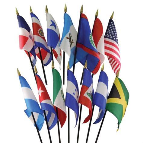 North & Central America Flag Set - Montessori Services