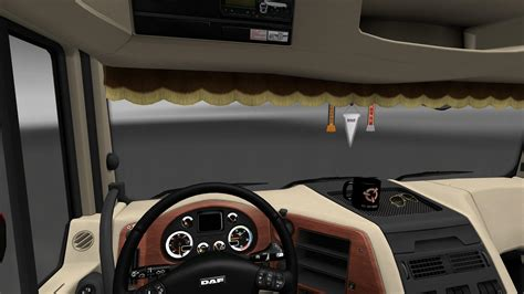 daf xf  interior rework mod euro truck simulator  mods