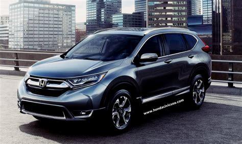 2019 Honda Crv Specs Review  Honda Civic Updates