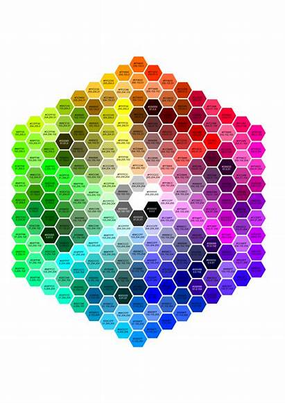 Rgb Hexagon Colour Hex Palette Affinity Zip