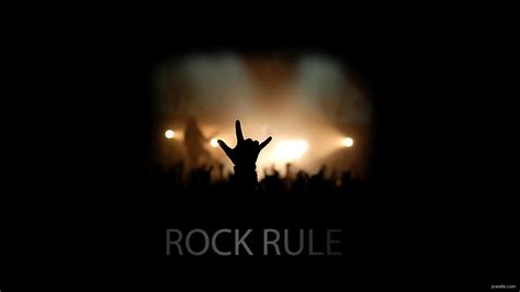 Rock Wallpaper by Rock Rule Hd Wallpaper And Background Image