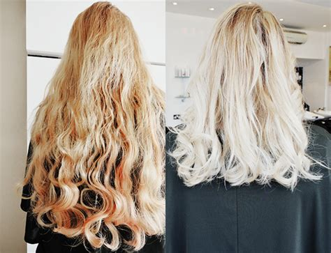 short blonde hair makeover  andrew jose  salon