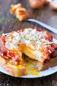 Quick Breakfast Pizza Recipes with Eggs