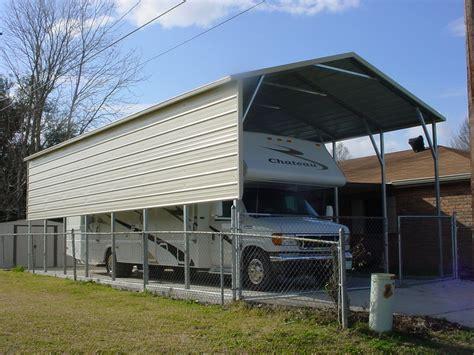 Rv Carport by Wisconsin Wi Carports Metal Carports Wisconsin Wi