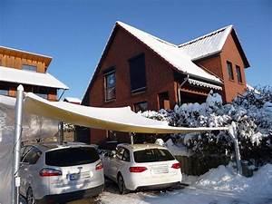 Carport Mit Plane : carport als segel berspannung im schneereichen winter 2009 ~ Markanthonyermac.com Haus und Dekorationen