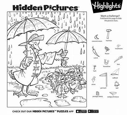 Hidden Printable Highlights Puzzle Puzzles Yourself Try
