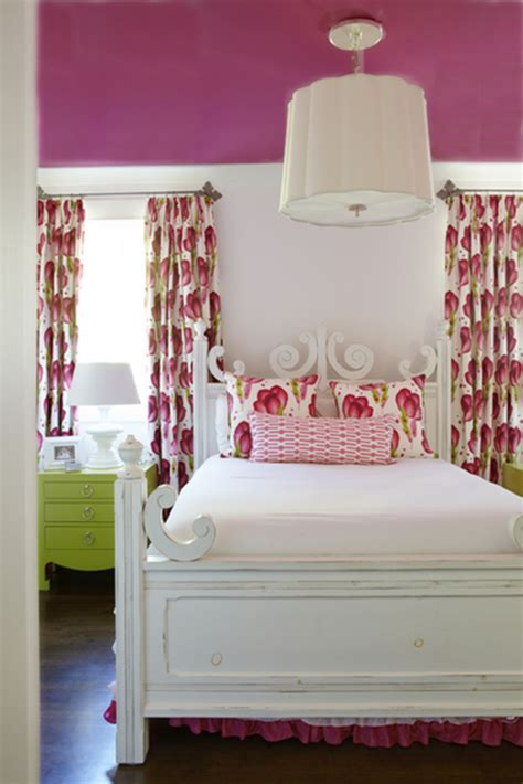 bedroom designs pink decorating with complementary colors centsational style 10400 | pink and green bedroom