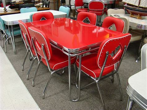 american furniture warehouse kitchen tables and chairs still in production after nearly 70 years acme chrome