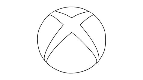 How To Draw The Xbox Logo (symbol, Emblem)