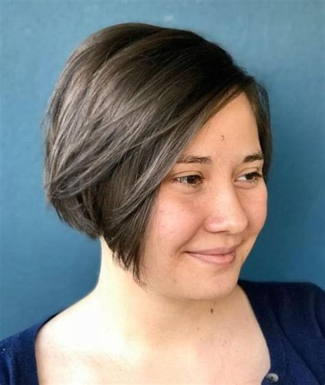 cute  flattering short hairstyles   faces