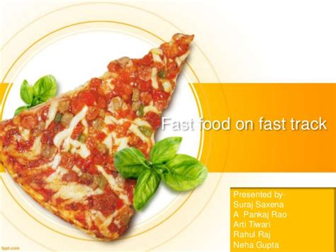 Fast Food Industry India