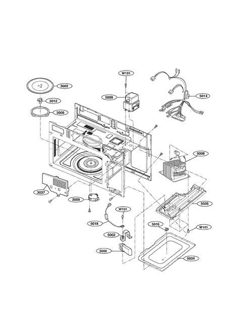 lg model lmvst microwavehood combo genuine parts