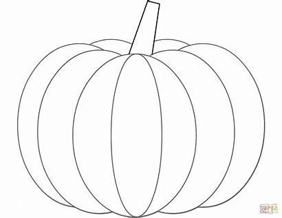 Pumpkin Coloring Halloween Pumpkins Printable Colorear Dibujos