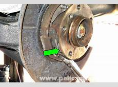 BMW E46 Parking Brake Shoes Replacement BMW 325i 2001