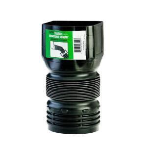 flex drain      polypropylene downspout adapter