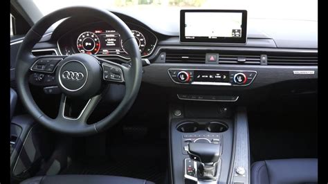 Audi A4 (w/technology Package, 2017)
