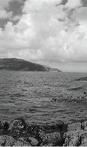 Portnablagh 2 Bw Donegal Ireland Photograph by Eddie Barron