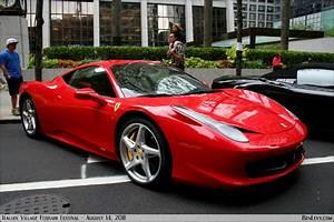 Red Ferrari 458 Italia - BenLevy.com