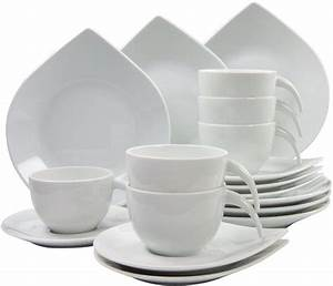 Geschirr Set Weiß : creatable kaffeeservice porzellan 18 teile drop online kaufen otto ~ Buech-reservation.com Haus und Dekorationen