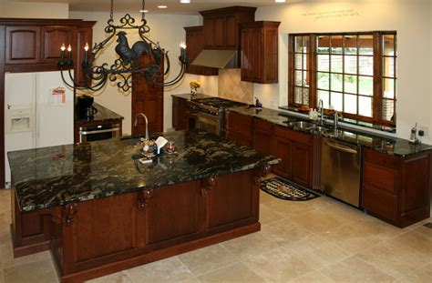 kitchen floors and cabinets kitchens with cherry cabinets