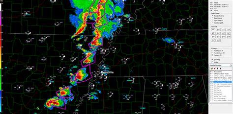 foto de The Original Weather Blog: Tornadic Storms Moving Into