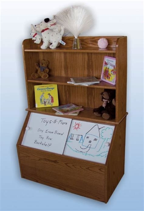 Bookcase Toybox by Box With Bookshelf Wesley S Room Ideas