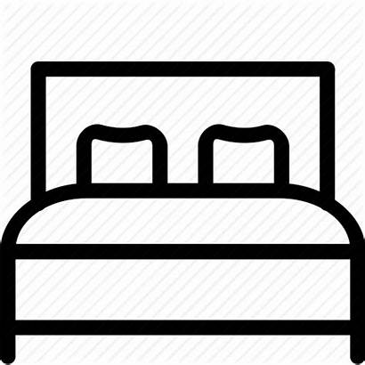 Bed Icon Bedroom Clipart Svg King Transparent
