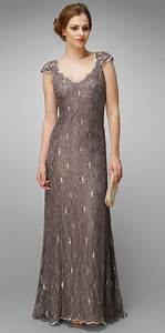 Collection 8 Eve Lace Beaded Full Length Dress by Phase ...