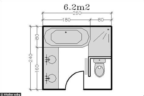 surface minimum bureau agencement d 39 une salle de bain