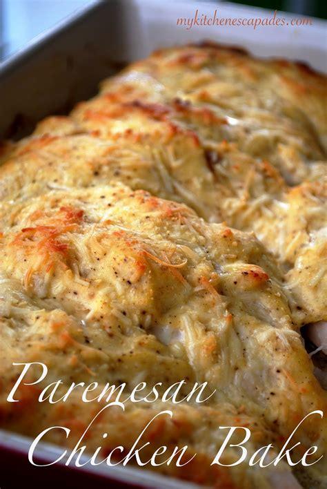 parmesan chicken baked chicken parmesan recipe dishmaps