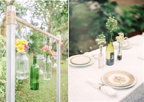 inspiration d 233 co r 233 cup des bouteilles en verre la mari 233 e en col 232 re mariage grossesse