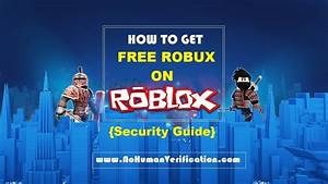 Free Robux - Roblox Hack & Generator Guide 2018 {100% Working}