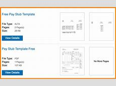 6+ paycheck stub template microsoft word Samples Of Paystubs