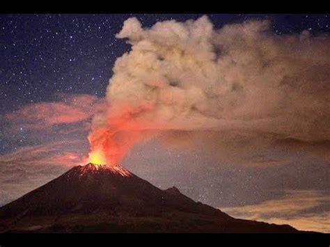 Popocatepetl Volcano Massive Eruption Mexico
