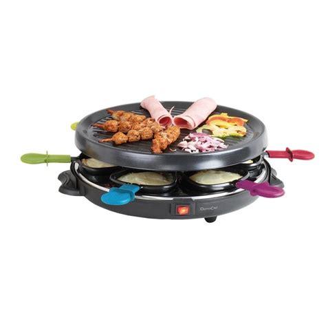 petit electromenager cuisine appareil à raclette 6 personnes domoclip raclettes fondues et cuisine conviviale petit