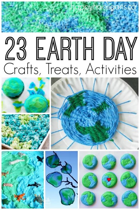 23 earth day crafts treats and activities for 726 | 23 Earth Day crafts treats and activities Happy Hooligans