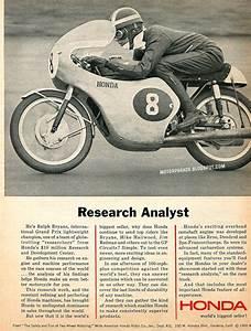 Racing Caf U00e8  Vintage Brochures  Honda 1966  Usa