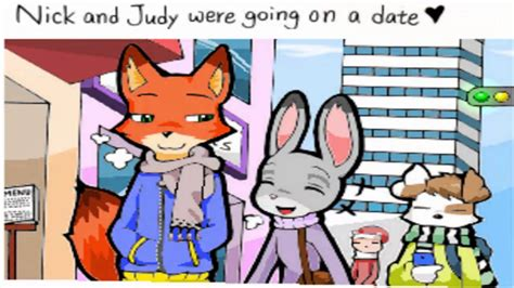 Nick X Judy 1 Warm Christmas Zootopia Comic English