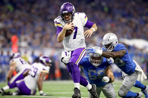 minnesota vikings  detroit lions week  ups  downs